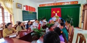 Hội nghị cán bộ công nhân viên chức năm học 2021 - 2022